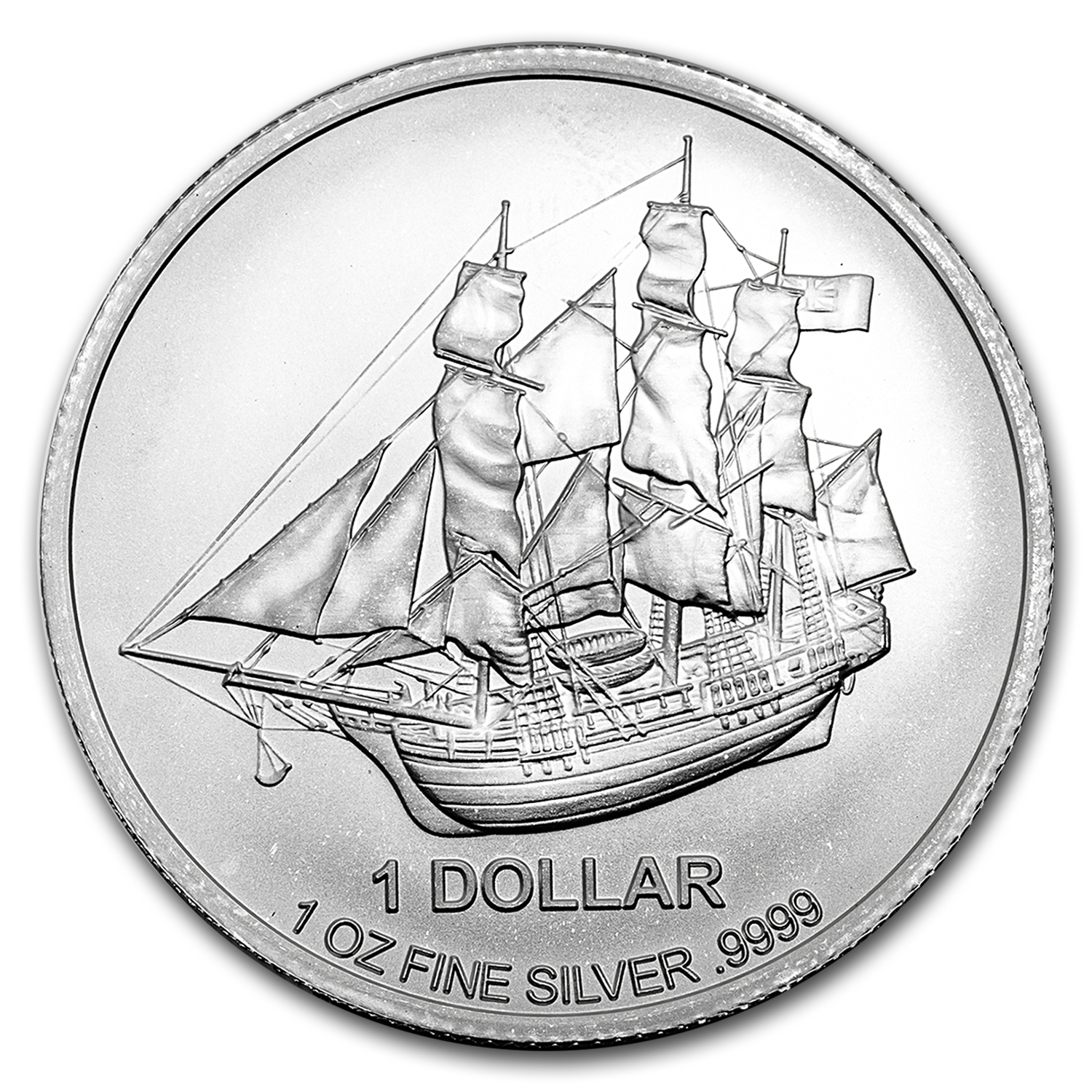 2016 Cook Islands 1 oz Silver Bounty Coin